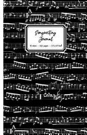 Songwriting Journal: Alternating Blank Sheet Music & Lined Paper for Lyrics, 10 Stave Manuscript Paper & College Ruled Paper, Song Writing