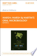 Marsh and Martin s Oral Microbiology   E Book Book
