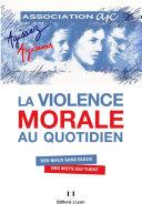Pdf La violence morale au quotidien Telecharger