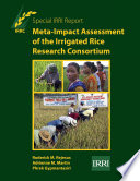Meta Impact Assessment Of The Irrigated Rice Research Consortium