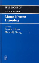 Motor Neuron Disorders Book