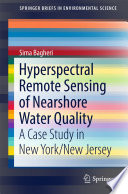Hyperspectral Remote Sensing of Nearshore Water Quality Book