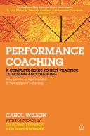 Performance Coaching