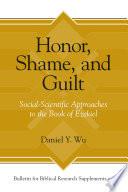 Honor  Shame  and Guilt