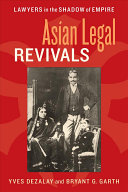 Asian Legal Revivals: Lawyers in the Shadow of Empire - Seite 291