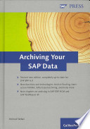 Archiving Your SAP Data