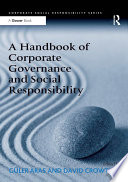 A Handbook Of Corporate Governance And Social Responsibility