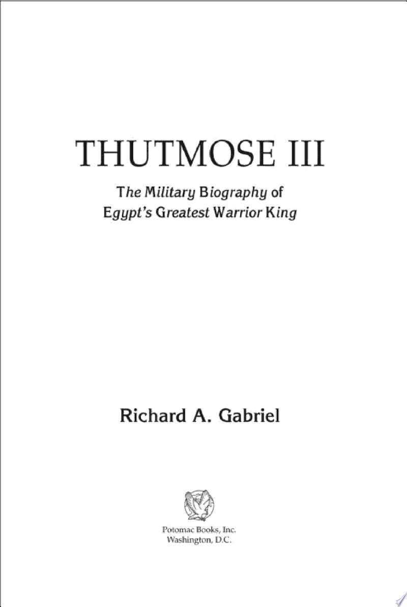 Thutmose III banner backdrop
