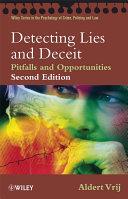 Detecting Lies and Deceit Pdf/ePub eBook