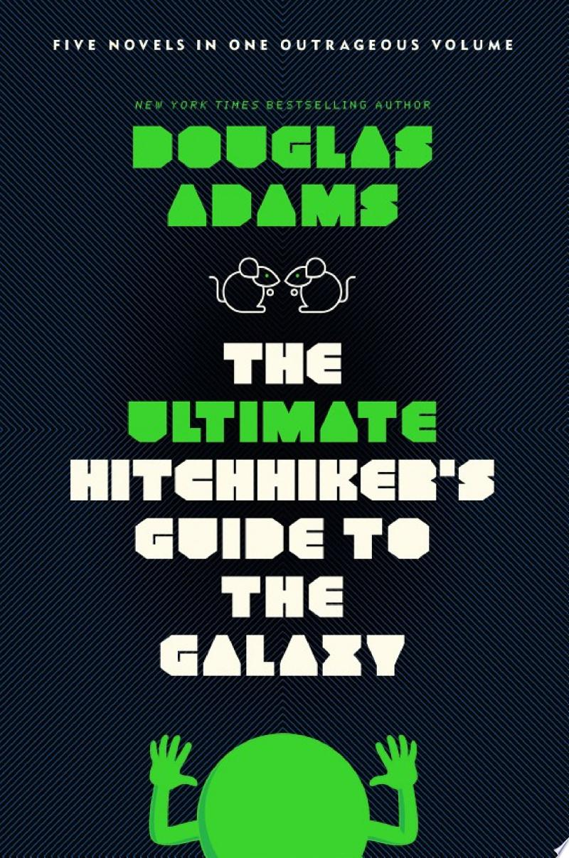The Ultimate Hitchhiker's Guide to the Galaxy banner backdrop