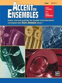 Accent on Ensembles, Book 1