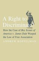 A Right to Discriminate