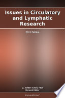 Issues in Circulatory and Lymphatic Research  2011 Edition Book