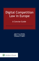 Pdf Digital Competition Law in Europe Telecharger