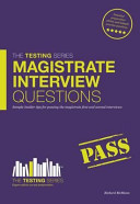 Magistrate Interview Questions