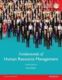 Fundamentals of Human Resource Management  Global Edition