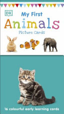 My First Animals Picture Cards