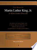The Book of Martin Luther King, Jr. in King James English