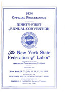 Official Proceedings Of The Annual Convention