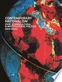 Contemporary Nationalism