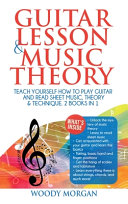 Guitar Lessons and Music Theory