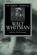 The Cambridge Companion to Walt Whitman
