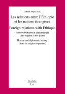 Foreign relations with Ethiopia