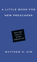 A Little Book for New Preachers Pdf/ePub eBook