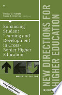 Enhancing Student Learning And Development In Cross Border Higher Education