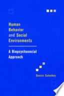 Human Behavior and Social Environments