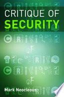 Critique Of Security