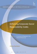 Enforcing Corporate Social Responsibility Codes
