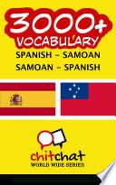 3000  Spanish   Samoan Samoan   Spanish Vocabulary