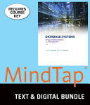 Database Systems + Mindtap Mis, 6-month Access