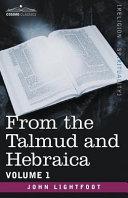 From the Talmud and Hebraica [Pdf/ePub] eBook