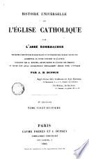 Histoire Universelle de l'Esglise Catholique, 28