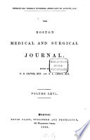 Boston Medical and Surgical Journal Book PDF