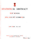 Statistical Abstract    Bureau of Applied Economics and Statistics  Government of West Bengal