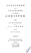 Gedachten En Gevoelens Van Eenen Christen