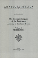 The Fragment - Targums of the Pentateuch