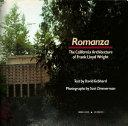 Romanza:Ca.Arch.of F.L.Wright