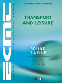 ECMT Round Tables Transport and Leisure