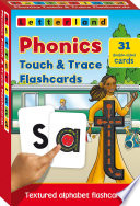 Phonics Touch   Trace Flashcards Book