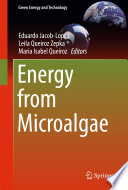 Energy From Microalgae Book PDF