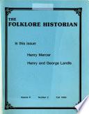 The Folklore Historian