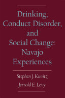 Drinking  Conduct Disorder  and Social Change