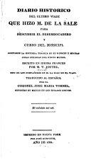 Diario histórico del último viaje que hizo M. de La Sale para descubrir el desembocadero y curso del Missicipi
