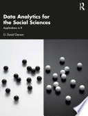 Data Analytics for the Social Sciences Book
