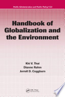 Handbook of Globalization and the Environment