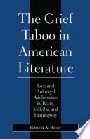 Grief Taboo in American Literature Book PDF
